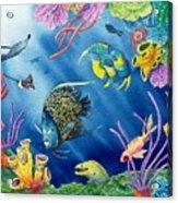 Undersea Garden Acrylic Print