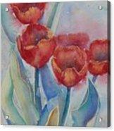 Undersea Tulips Acrylic Print