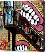 Underteeth The Stairs 2 Acrylic Print