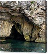 Underwater Cave Acrylic Print