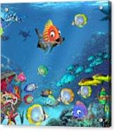 Underwater Fantasy Acrylic Print
