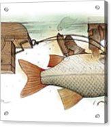 Underwater Acrylic Print by Kestutis Kasparavicius