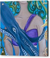 Underwater Mermaid Acrylic Print