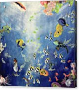Underwater World II Acrylic Print by Odile Kidd