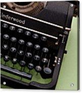 Underwood Acrylic Print by Valerie Morrison