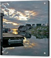 Unesco World Heritage Site - Peggy's Cove - Nova Scotia Acrylic Print