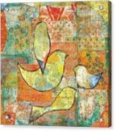 Unfinished Bird Acrylic Print