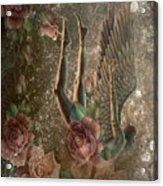 Unicorn Angel Acrylic Print