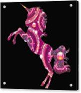 Unicorn Gems Acrylic Print