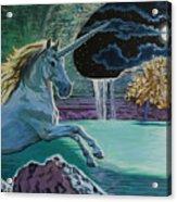 Unicorn Lake Acrylic Print