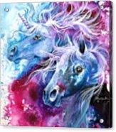 Unicorn Magic Acrylic Print