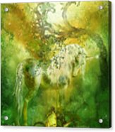 Unicorn Of The Forest  Acrylic Print