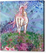 Unicorn Tears Acrylic Print