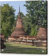 Unidentified Wat Wihan And Chedi Dthst0074 Acrylic Print