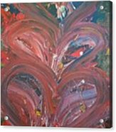Unintended Abstract  Acrylic Print