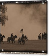 Union Cavalry Charge Acrylic Print