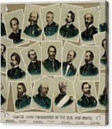 Union Commanders Of The Civil War   Acrylic Print