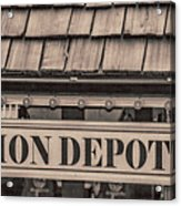 Union Depot Acrylic Print