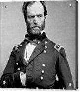 Union General William Tecumseh Sherman 1865 Acrylic Print
