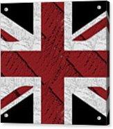 Union Jack Flag Deco Swing Acrylic Print