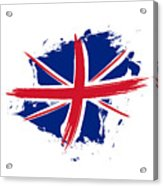 Union Jack - Flag Of The United Kingdom Acrylic Print