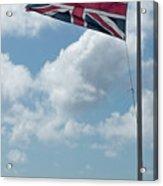 Union Jack Off Land's End Acrylic Print