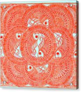 Union  Orange Acrylic Print