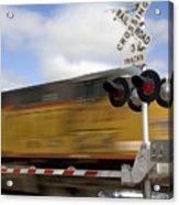 Union Pacific Coal Train Acrylic Print