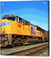 Union Pacific Acrylic Print
