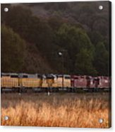 Union Pacific Locomotive Trains . 7d10551 Acrylic Print