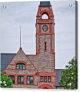 Union Pacific Railroad Depot Cheyenne Wyoming 01 Acrylic Print