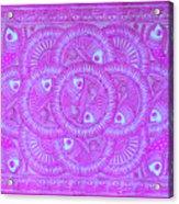 Union Purple Acrylic Print
