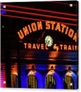 Union Station Lights Acrylic Print