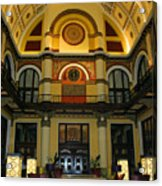 Union Station Lobby Acrylic Print