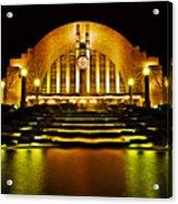 Union Terminal Acrylic Print