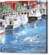 Union Wharf Acrylic Print