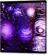 Unique Bubbles Acrylic Print