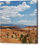 Unique Landscape Of Bryce Canyon Acrylic Print