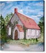 Unitarian Church Acrylic Print