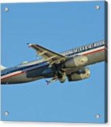 United Airbus A320-232 N475ua Friend Ship Phoenix Sky Harbor November 11 2017 Acrylic Print