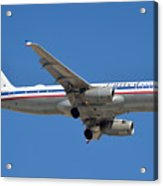 United Airlines Airbus A320 Friend Ship N475ua Sky Harbor March 24 2015 Acrylic Print