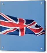 United Kingdom Flag Acrylic Print