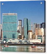 United Nations Building Acrylic Print