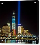 United Remembrance  Acrylic Print by Michael Murphy