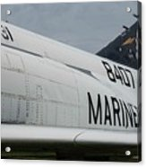 United State Marines Acrylic Print