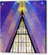 United States Air Force Academy Cadet Chapel 3 Acrylic Print
