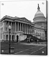 United States Capitol Building 2 Bw Acrylic Print