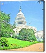 United States Capitol - Washington Dc Acrylic Print