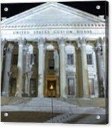 United States Custom House Acrylic Print