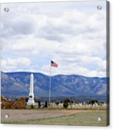 United States Merchant Marine Cemetery Acrylic Print
